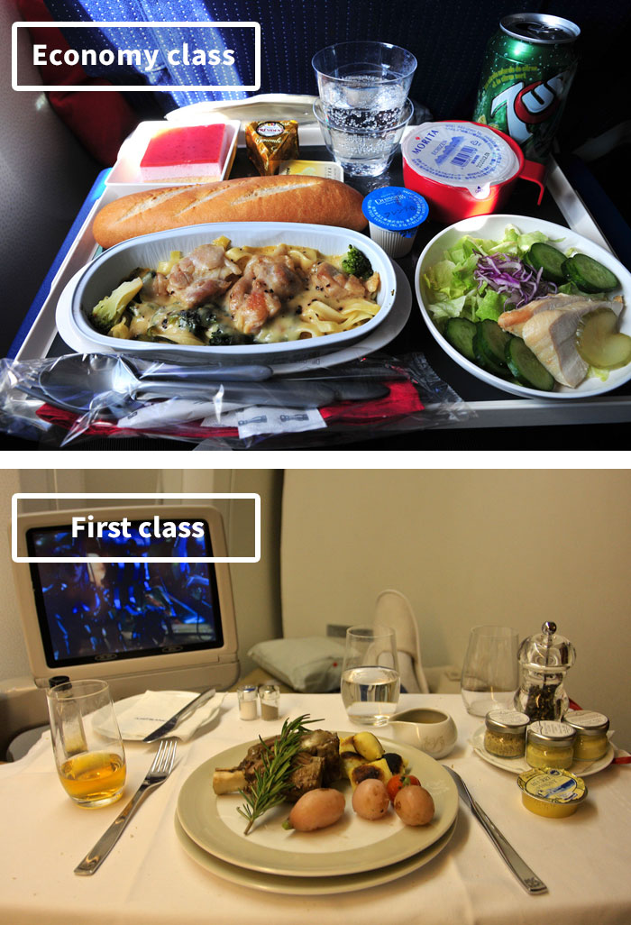 Airline Food Economy Vs First Class Avjetrouting News